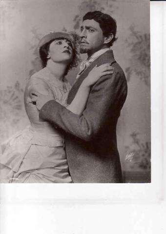 Pauline Frederick and John Barrymore